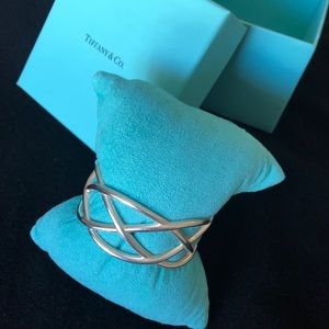 Tiffany & Co Paloma Picasso Sterling Cuff Bracelet